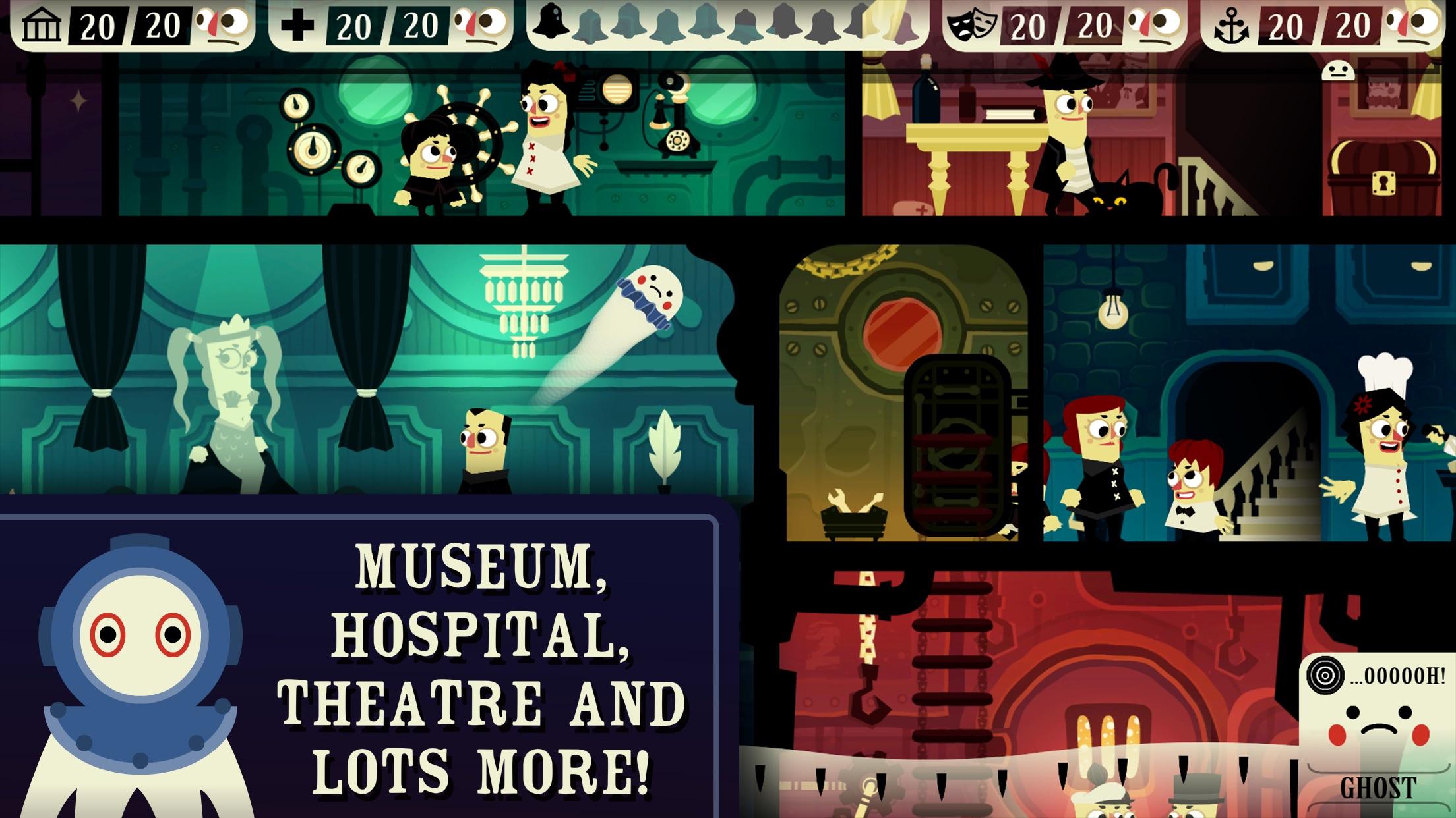 Haunt the House: Terrortown Screenshot