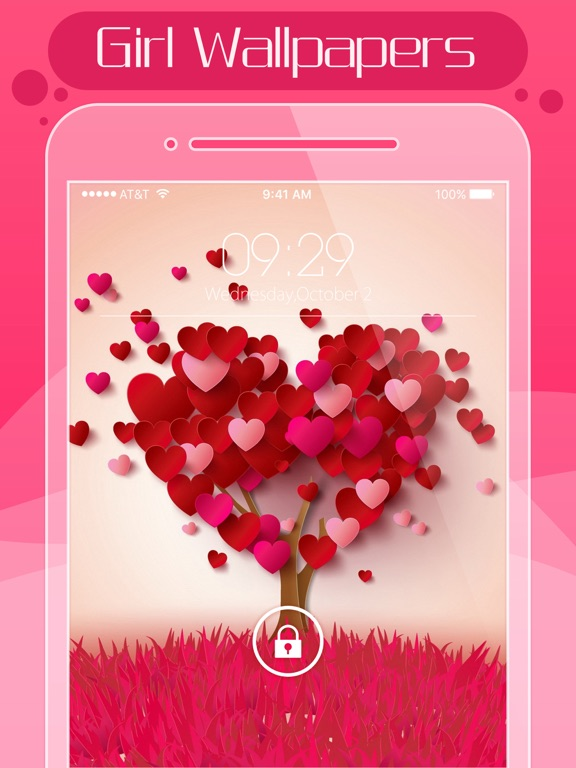 Screenshot #1 for Girls Wallpapers Pro - Girly Cute Backgrounds ...