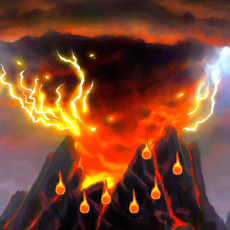 Activities of Ice Volcano Game