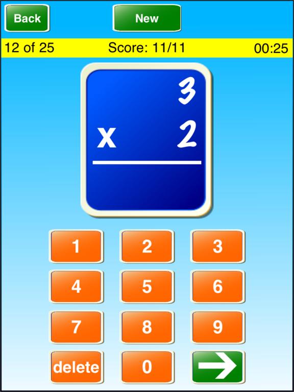 Math Flash Cards ! ! Screenshot 0