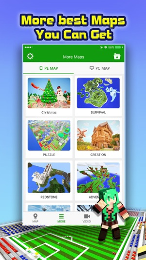 Mini Game Maps for Minecraft PE : Pocket Edition on the App Store
