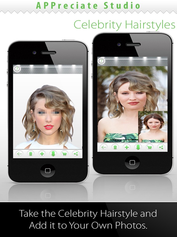 Try On Celebrity Hairstyles Premium | App Price Drops