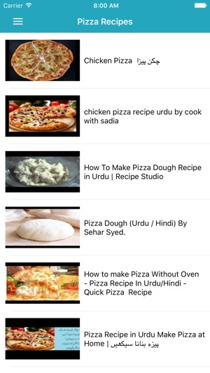 Pizza recipes in urdu on the app store screenshots forumfinder Image collections