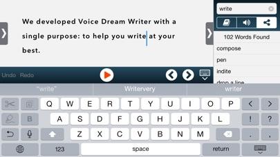Screenshot #5 for Voice Dream Writer