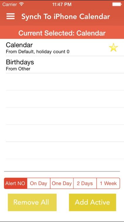 WorldCal - World Calendar Country Public Holiday screenshot-4