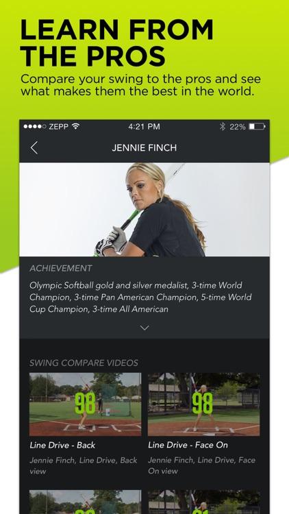 Zepp Baseball & Softball Swing Analyzer screenshot-4