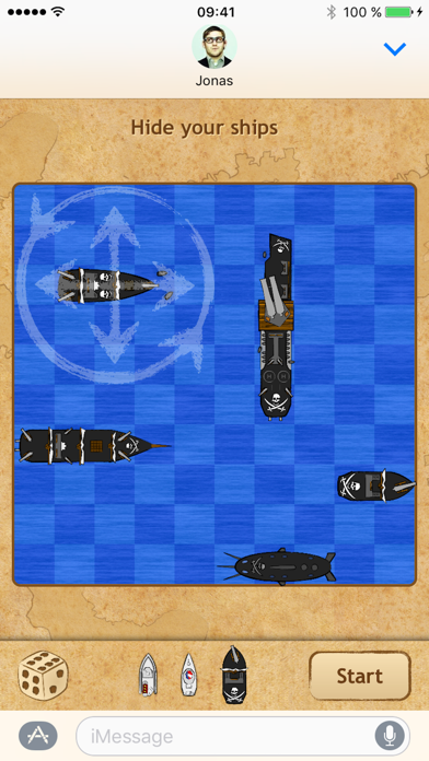 Naval Combat for iMessage screenshot two