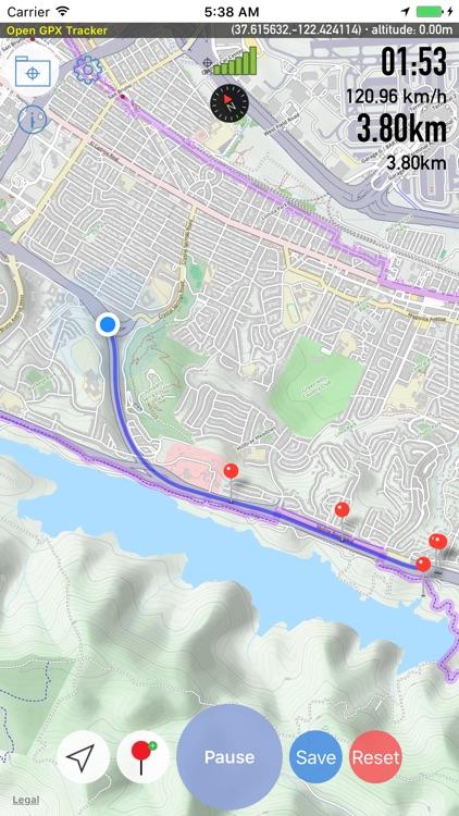 Open GPX Tracker