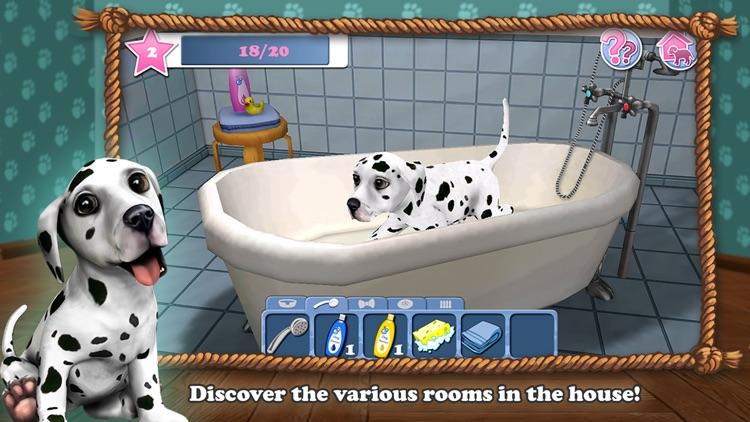 DogWorld 3D: My Dalmatian - the cute puppy dog screenshot-3