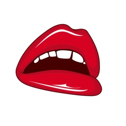Dirty Emoji Stickers - Sexy lips new Sticker Pack