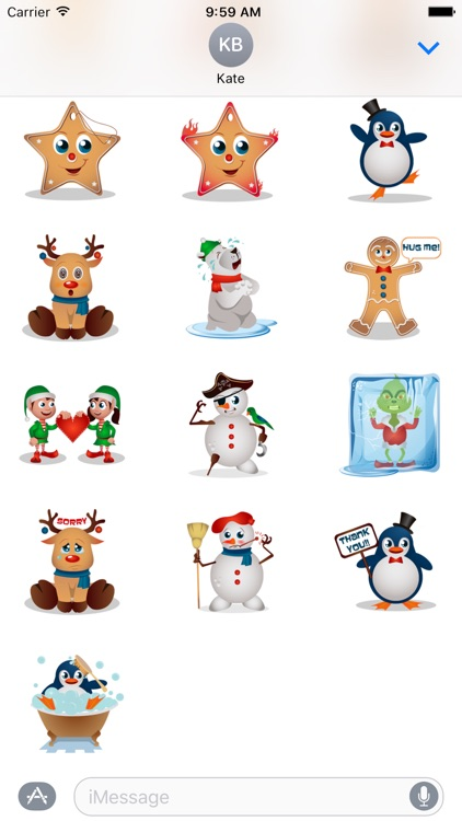 Very Merry Christmas Sticker screenshot-3