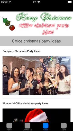 Christmas Party Ideas on the App Store