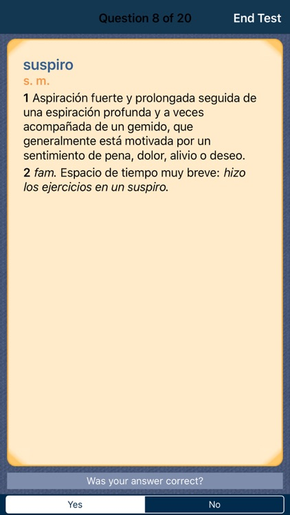 VOX Compact Spanish Dictionary and Thesaurus screenshot-3