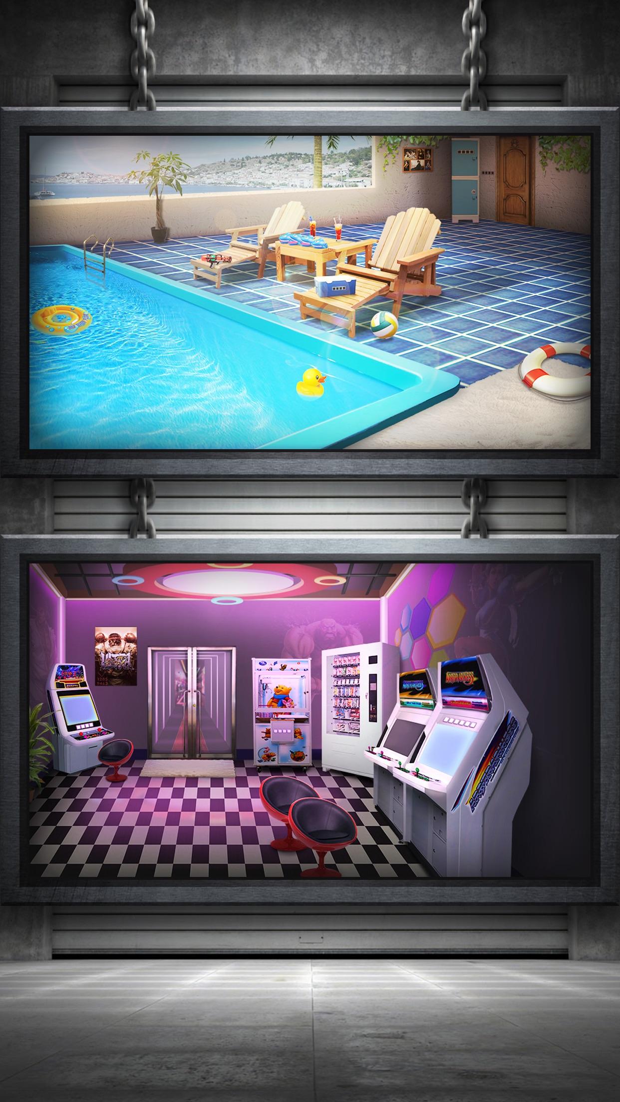 Escape Room:Apartment 8 - can you escape the doors Screenshot