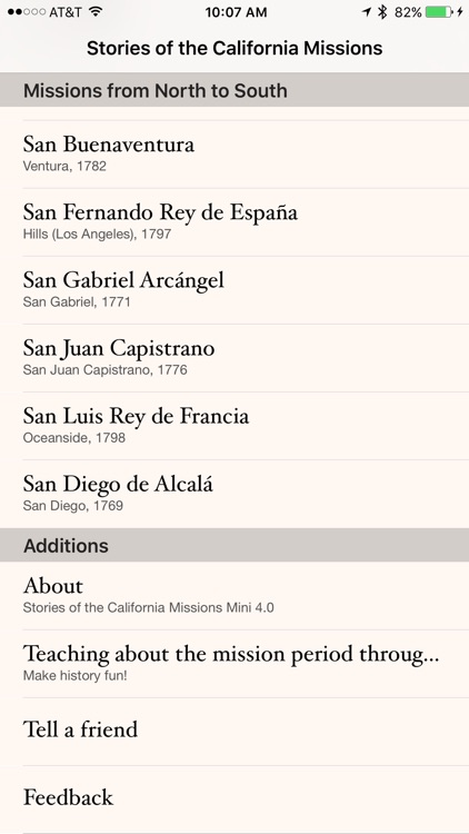 Stories of the California Missions Mini screenshot-3