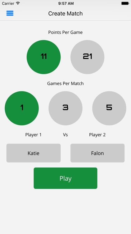 Ping Pong Scorer Pro screenshot-0