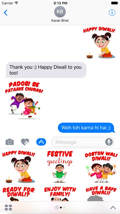 Just Diwali Things