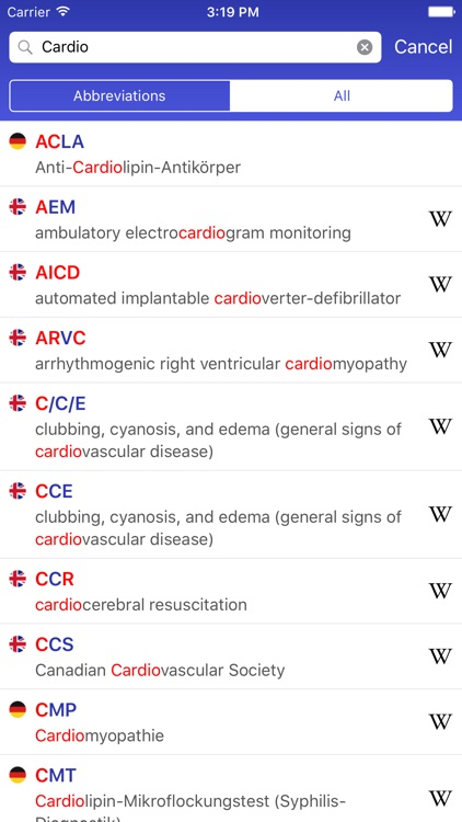 MAG Medical Abbreviations & Acronyms Glossary