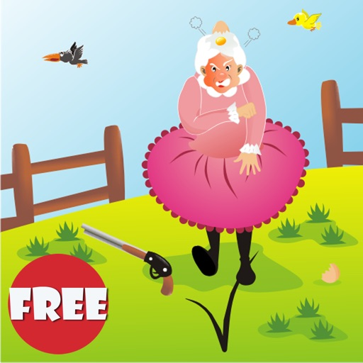Mad Granny Free - Angry Birds are dropping thei...