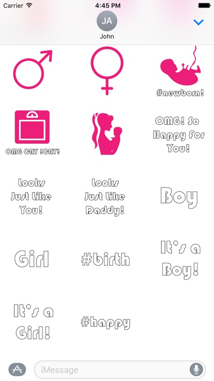 BabyBump-Pregnancy Stickers screenshot-3