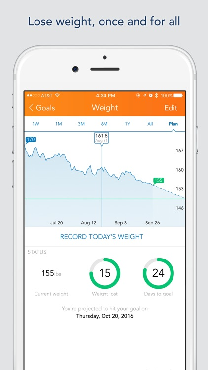 Lose It! – Weight Loss Program and Calorie Counter app image