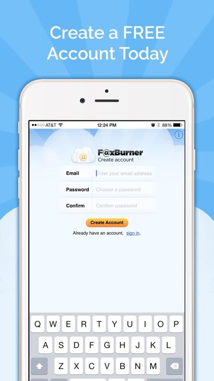 Fax Burner: Send & Receive Fax screenshot-4