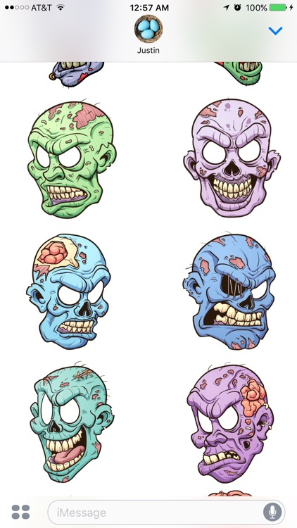 Zombie Stickers screenshot-1