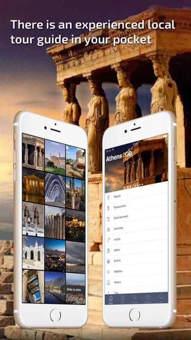 Athens - Offline Travel Guide screenshot one