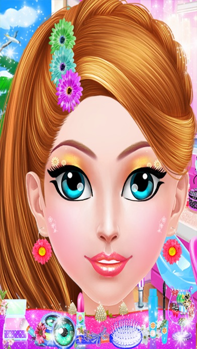 Crazy Girl Beach Party : Seaside Makeup Games screenshot four