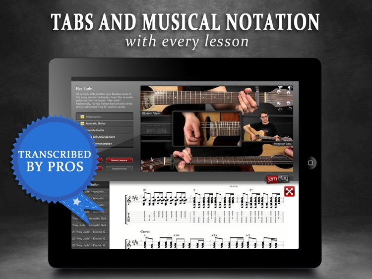 Guitar Lessons: JamPlay