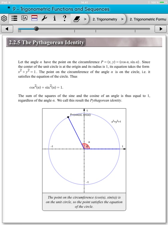 eMath4: Analytic Geometry screenshot-2
