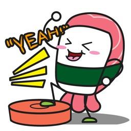 SUSHi Animated Stickers