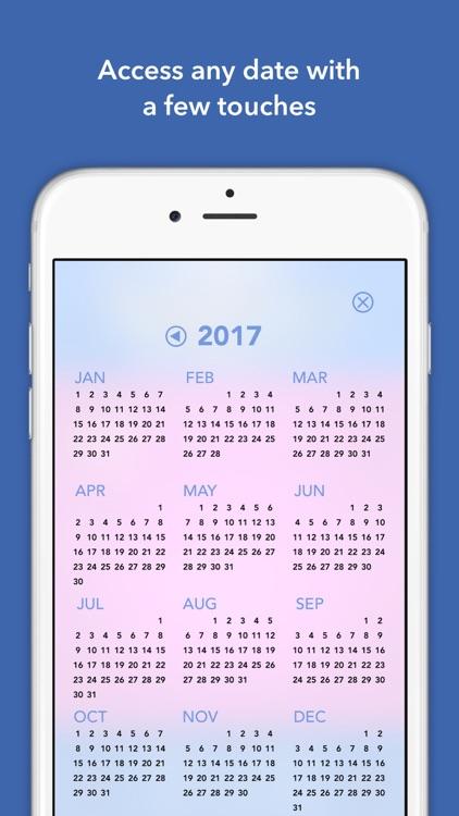 365 Bible Verses-A-Year Page-A-Day Calendar 2017 screenshot-3