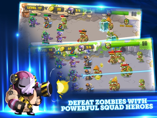 Zombies Dead Frontier Vs Special Squad heroes Pro-ipad-2