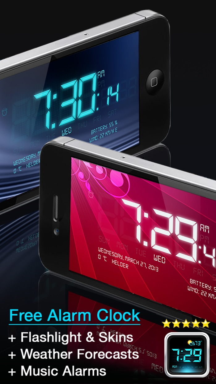 Alarm Clock - My Music Alarms Screenshot