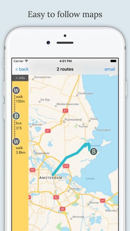 Holland Public Transport screenshot-4