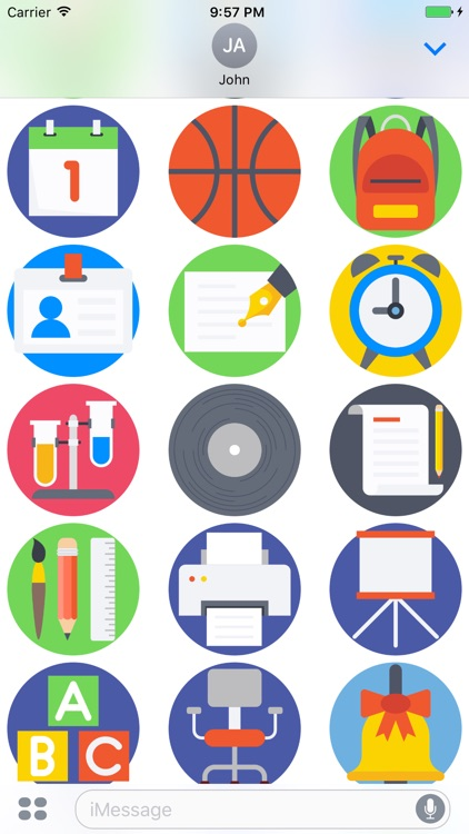 Education Stickers - Emoji Icons for Texting