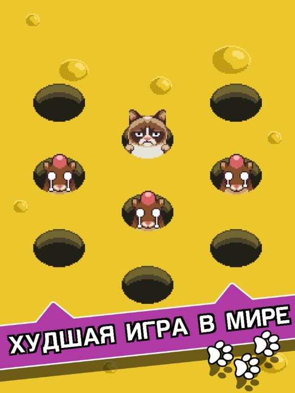 Скачать игру Сердитый Котик: ужасная игра