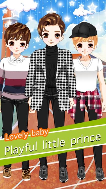 headstrong boy cute boys girls dress up game by qiong he