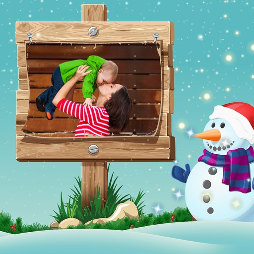 Christmas Picture Frame - Instant Photo frame iOS App