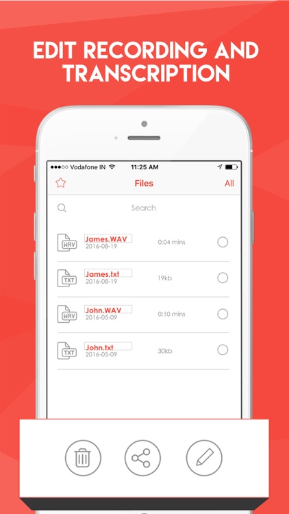 Dictate2Me – Record & Transcribe Voice To Text screenshot-3