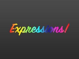 Expressions Colourful Stickers for iMessage