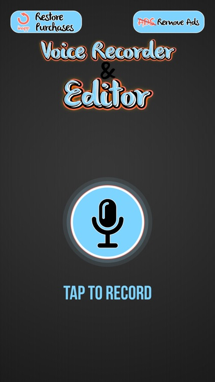 Voice Recorder and Editor – Best Voice Changer and Ringtone Maker with Cool Sound Effects screenshot-3