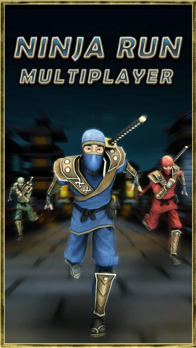 Ninja Run Multiplayer: Real Fun Racing Games 2-4