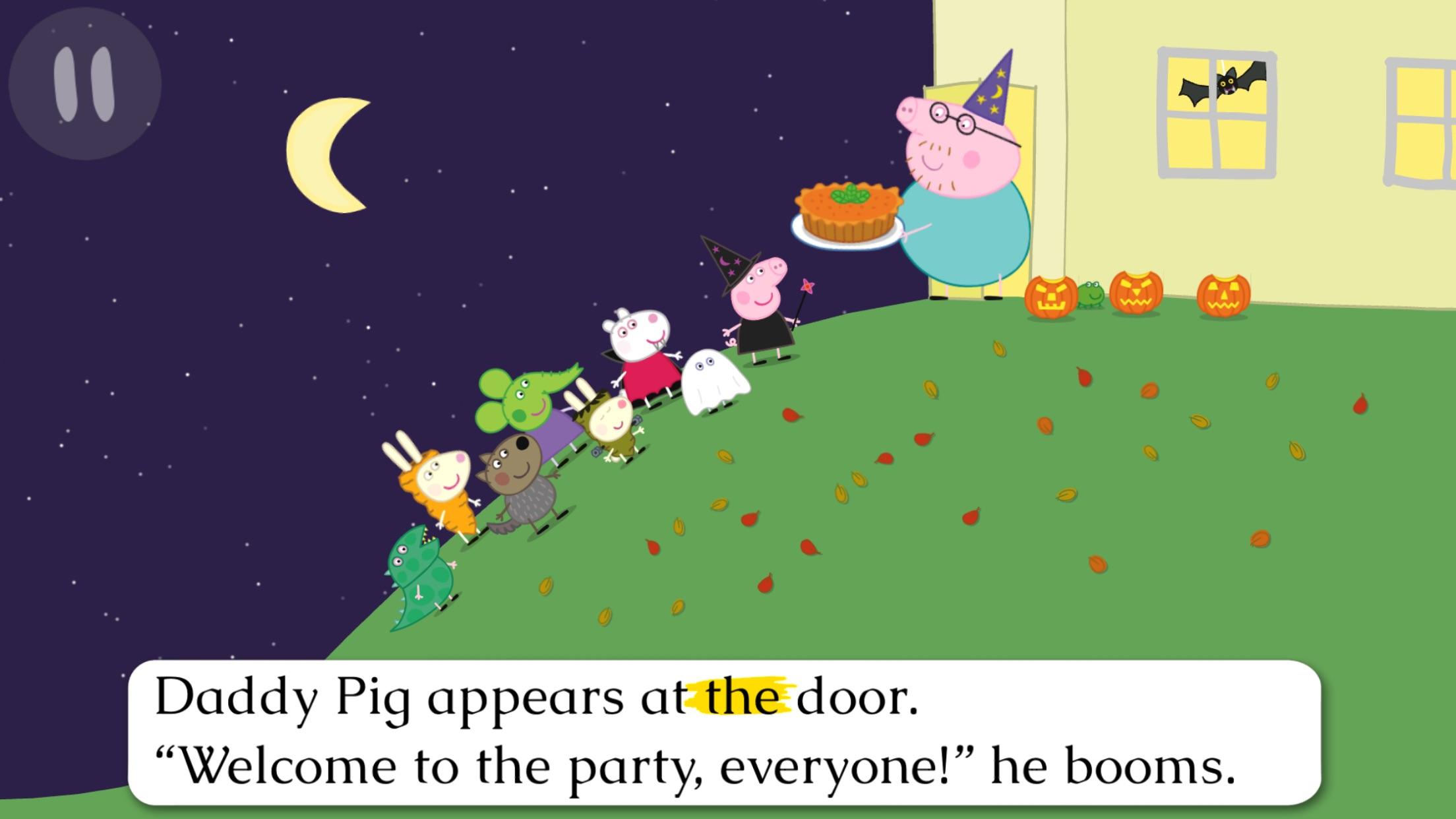 Peppa Pig Book: Pumpkin Party Screenshot