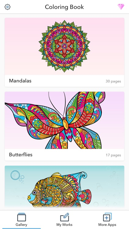 Fun Coloring Pages for Adults screenshot-4