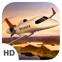 Flight Simulator (Bombardier Learjet 85 Edition) - Become Airplane Pilot