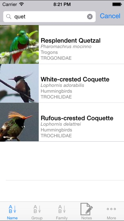 Panama Birds Field Guide screenshot-2
