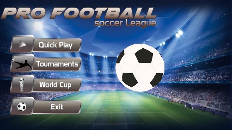 PRO FOOTBALL soccer league International 3D screenshot-4