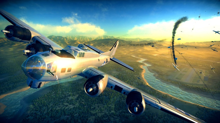 Flying Battles: FW. 252 Skyrocket screenshot-3